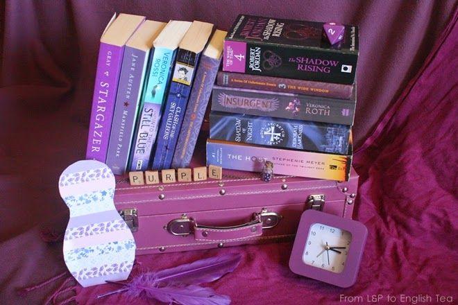 Rainbow Books - Purple - From L&P to English Tea