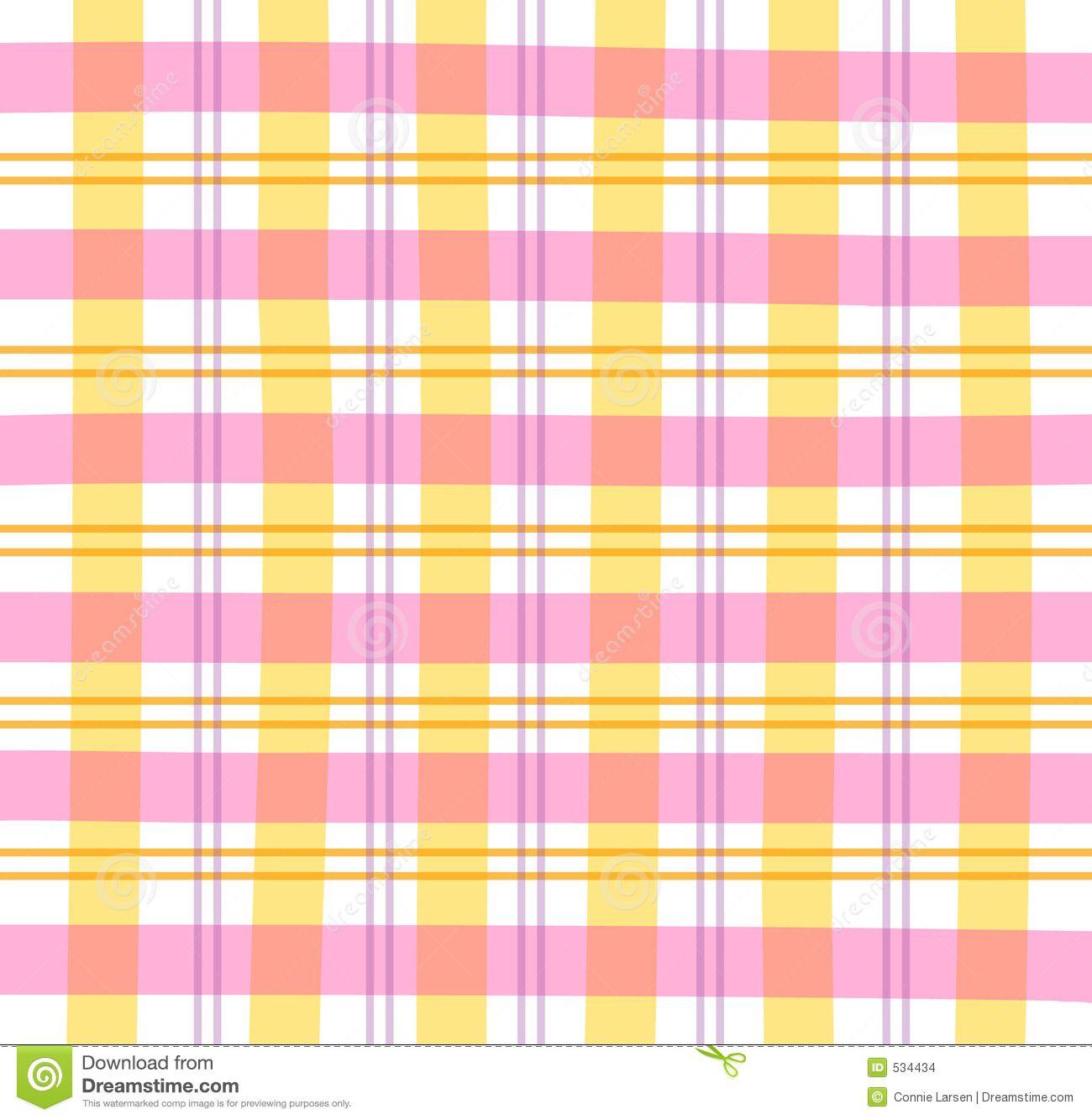 pastel plaid ilustraci n de un modelo en colores pastel rosado anaranjado p rpura plaids. Black Bedroom Furniture Sets. Home Design Ideas
