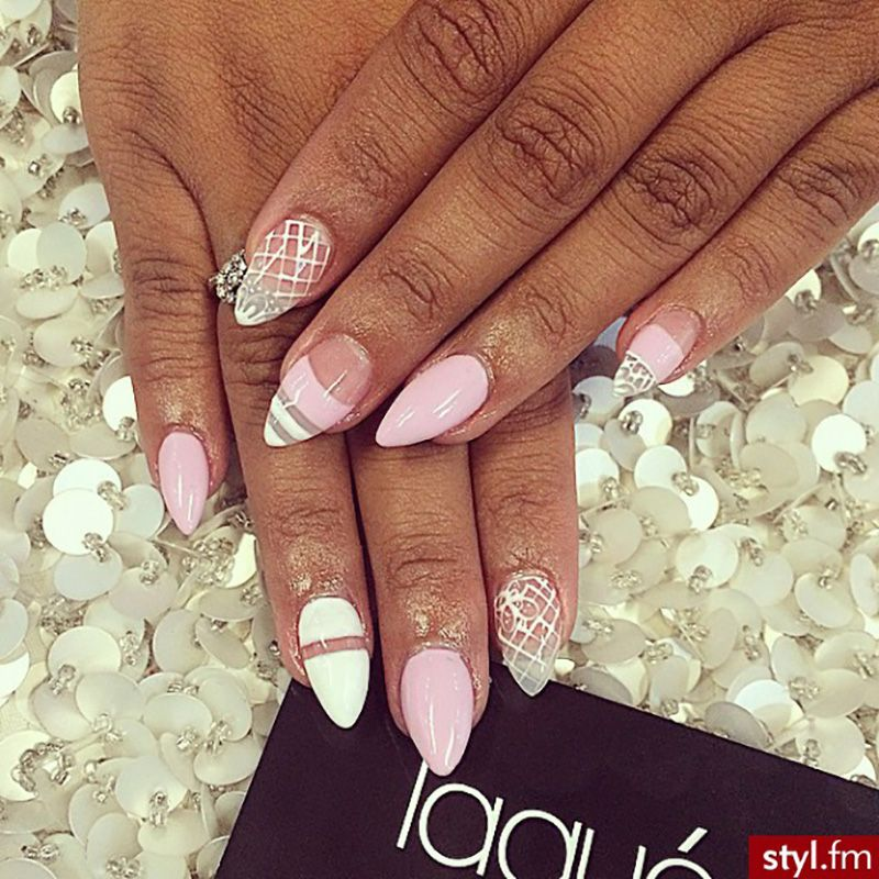 Mountain Peak Nails Makeup And Hair Pinterest Manicure And Make Up