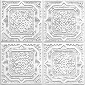 Armstrong 10 Pack 12 In X 12 In Tin Look Wellington Homestyle Ceiling Tile Acoustic Ceiling Tiles Armstrong Ceiling Ceiling Tiles