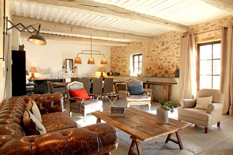 Salon : atmosphère de campagne interior house house design