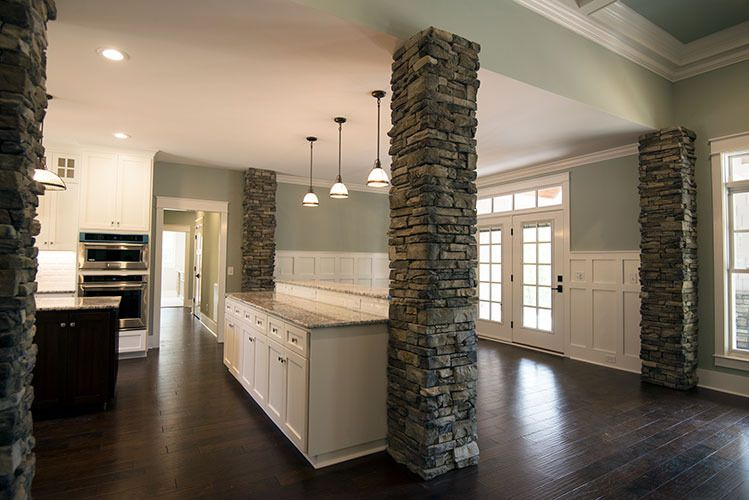 the markham house plan - kitchen | house plans | pinterest | house