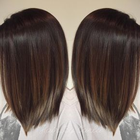 Dark Brown Hair With Subtle Balayage Balayage Straight Hair Hair Styles Balayage Hair