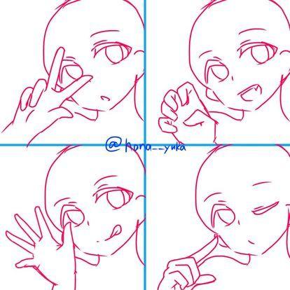トレス素材 ポーズに悩んだら トレス素材フリーを利用しよう フリー naver まとめ anime drawings tutorials anime poses reference drawing base