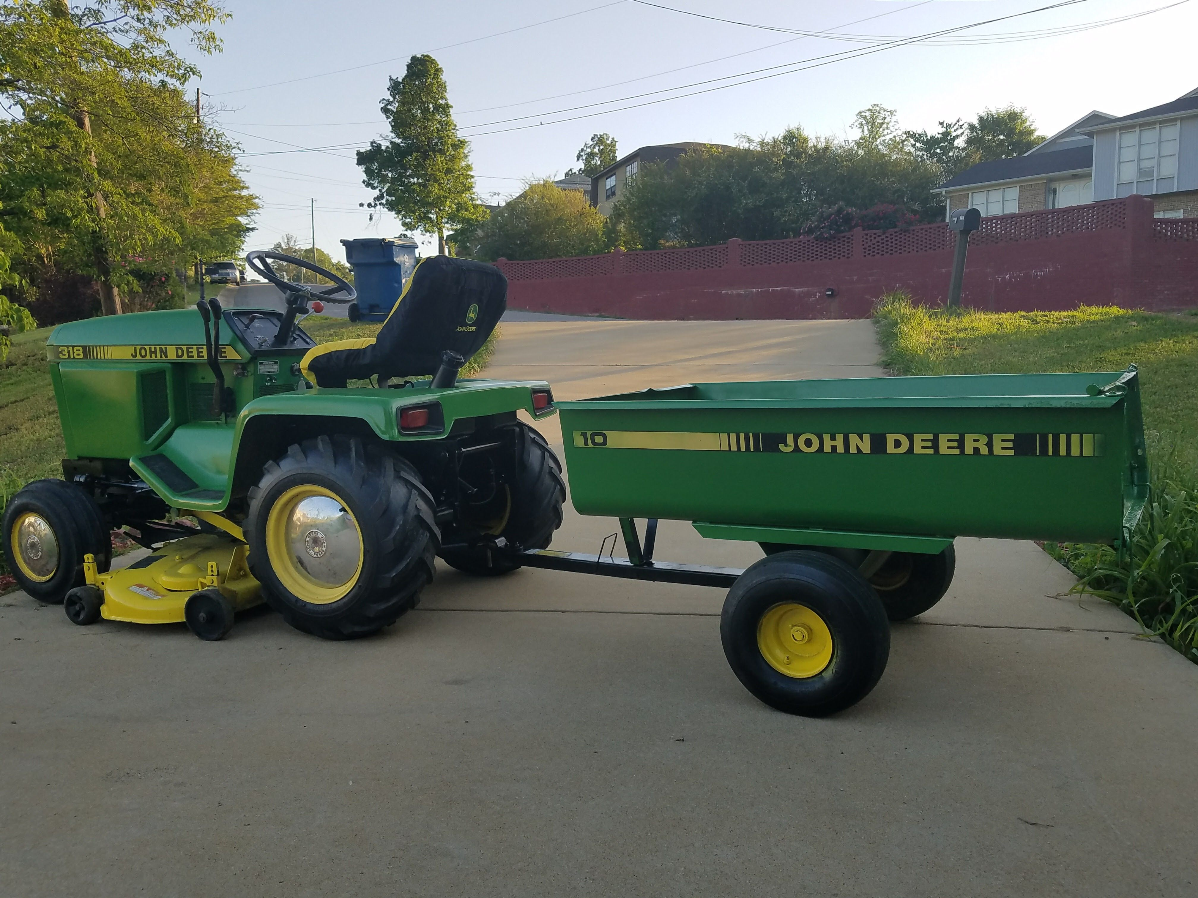 Pin on JOHN Deere lawn and garden tractors