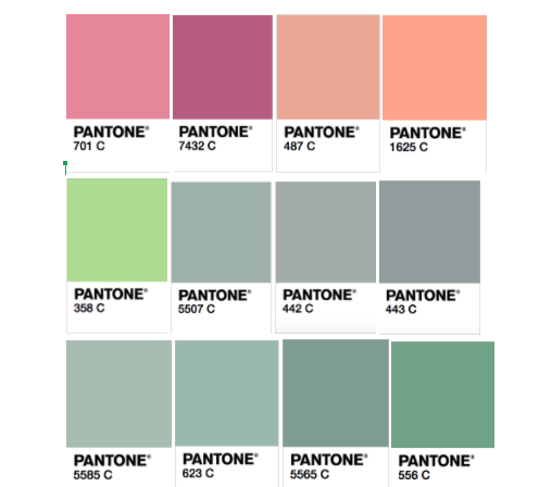 Specific Pantone Colors For Each Personality Season | Cricut