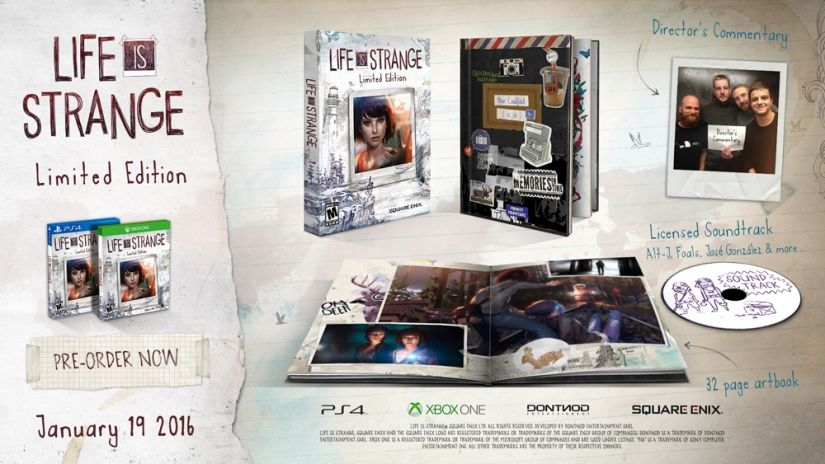 LIFE IS STRANGE LIMITED EDITION [PS4]