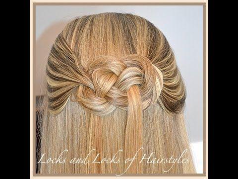 How to tie a Pretzel Knot in Hair, finally a good description
