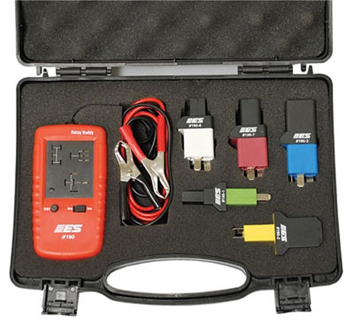 Esi 191 Relay Buddy Pro Test Kit In 2020 Relay Auto Repair Cleaning Kit