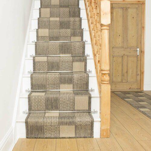 Abrahams Flatweave Tweed Stair Runner Rug Union Rustic Rug Size   Wayfair Carpet Runners For Stairs   Stair Treads   Stair Rods   Area Rug   Wool Rug   Treads Carpet