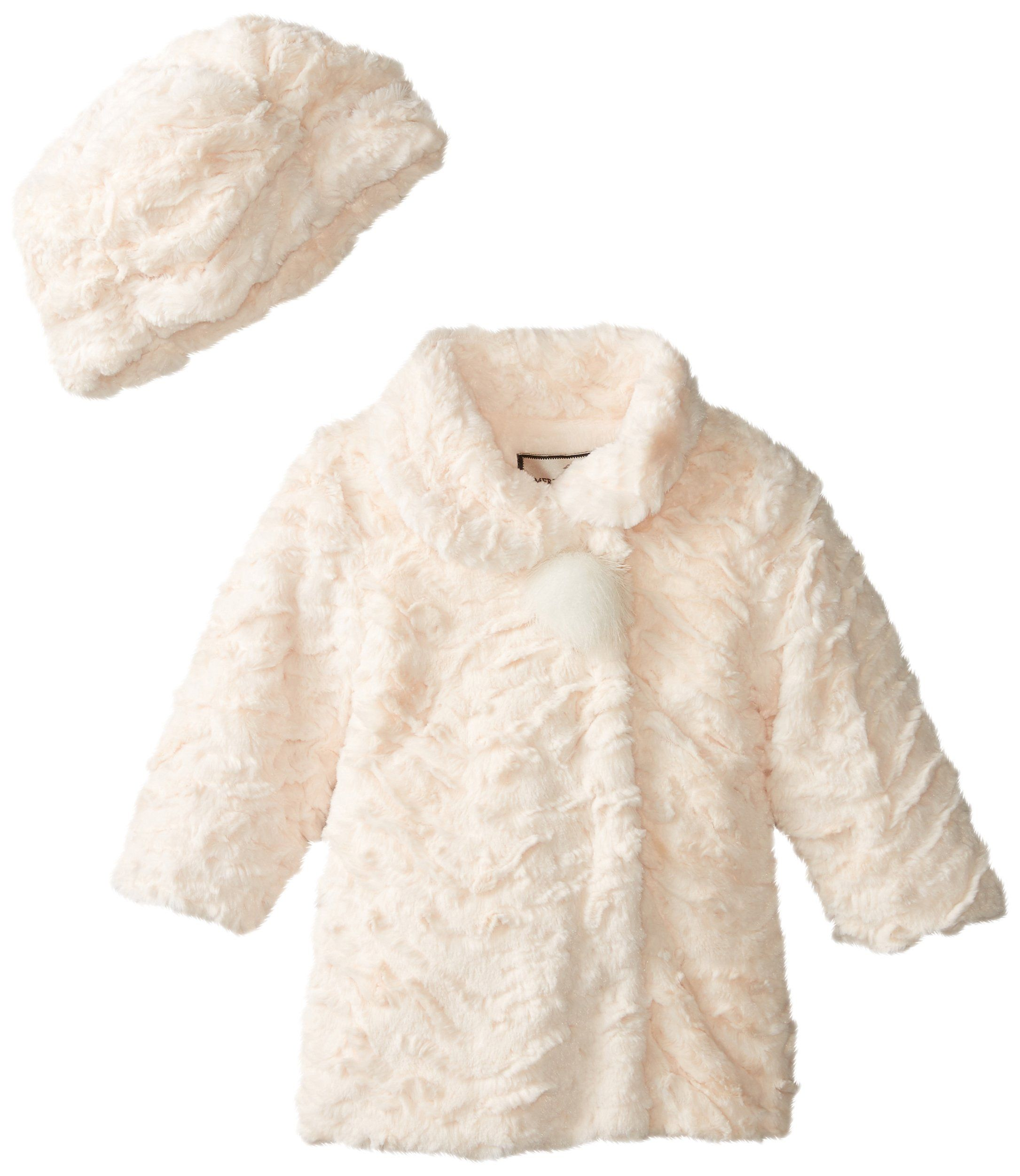 f6d865ea7 Widgeon Baby Girls  A Line Single Pom Pom Coat and Hat Set