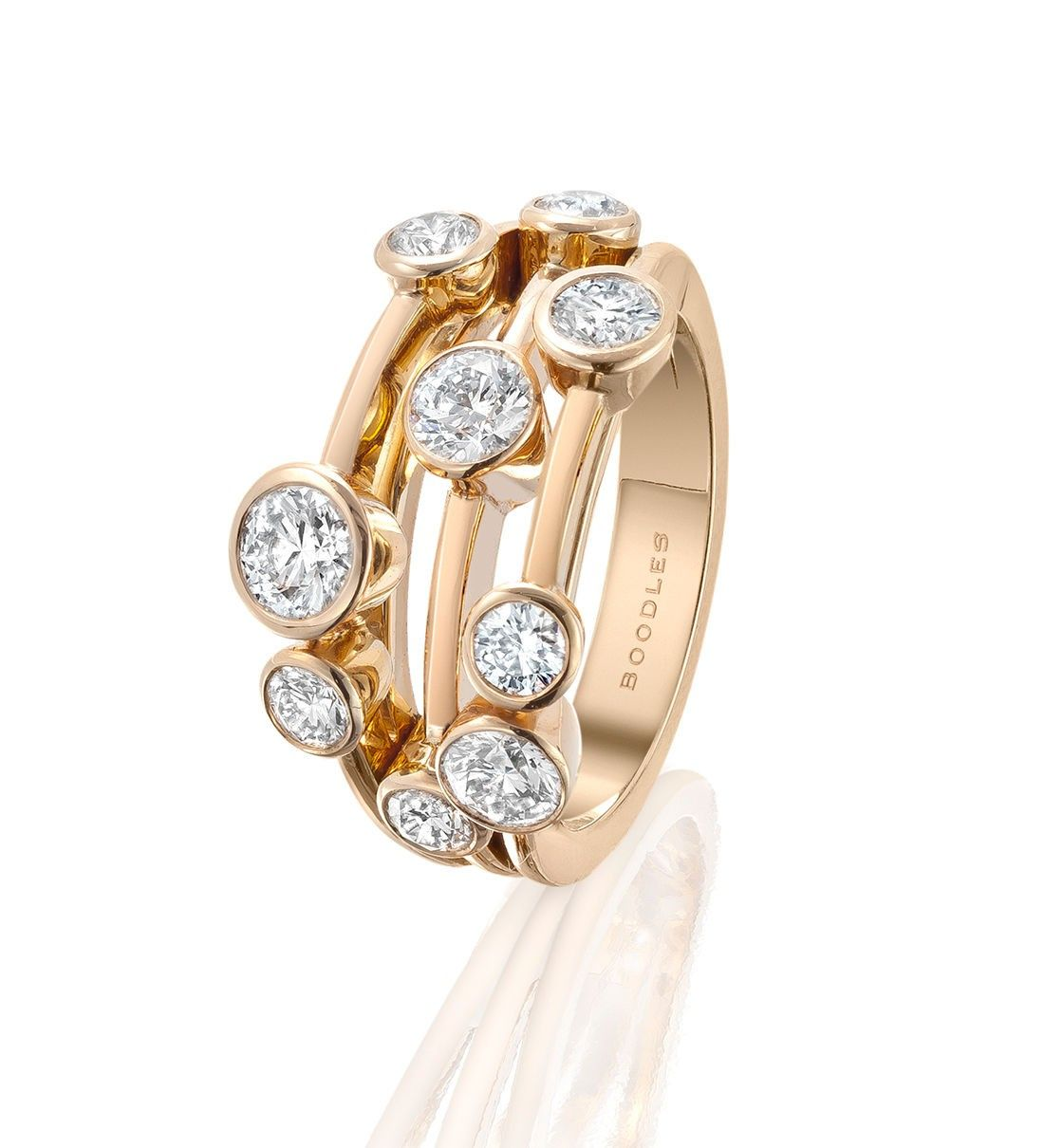 923f259d97f663 Raindance Classic Rose Gold Diamond Ring from Boodles - my beautiful 2nd  anniversary gift