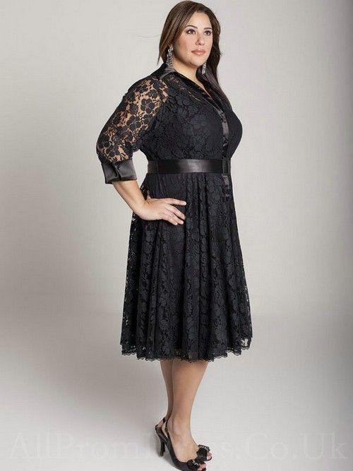 Plus Size Cocktail Dresses Sleeves - Ocodea.com
