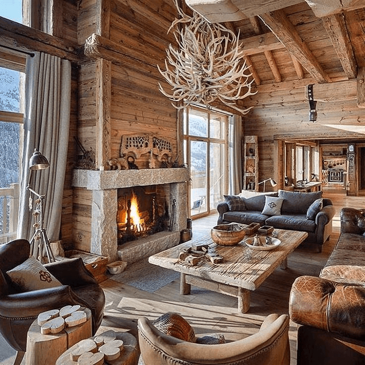 Finding The Best Ski Cabin Decorating Ideas In 2020 Cool House Designs House Design Cabin Living