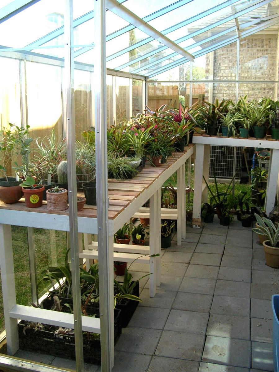 A Hobby Greenhouse For The Houston And Gulf Coast Area With