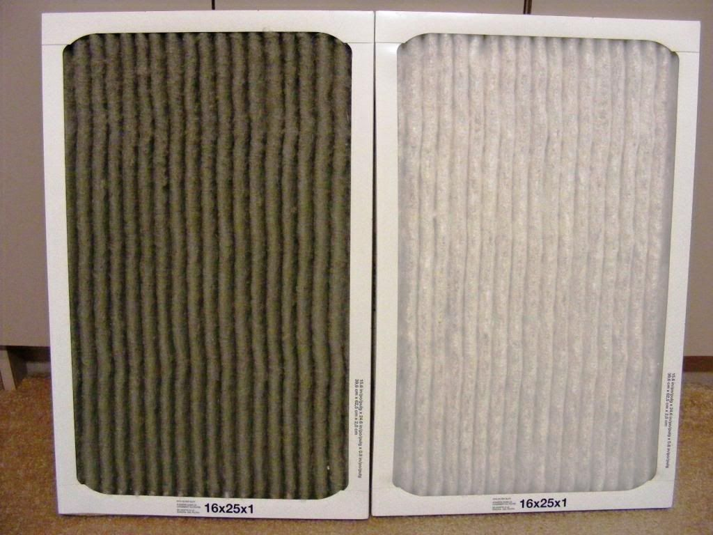 6 Steps to Remove Household Dust Furnace filters, Diy