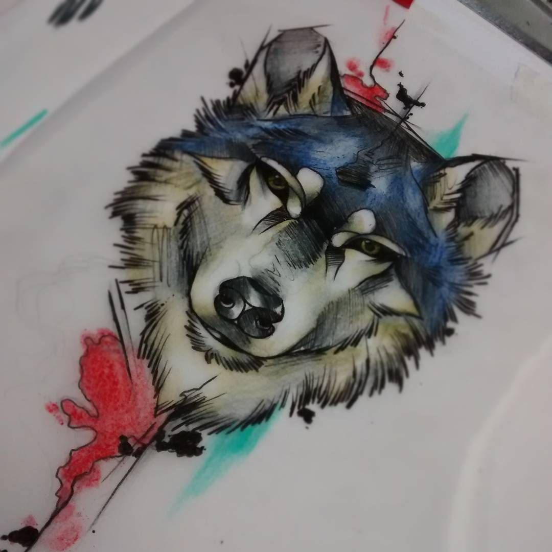 Wolf Wrist Tattoo Designs Ideas And Meaning: 45 Awesome Tribal Lone Wolf Tattoo Designs & Meanings