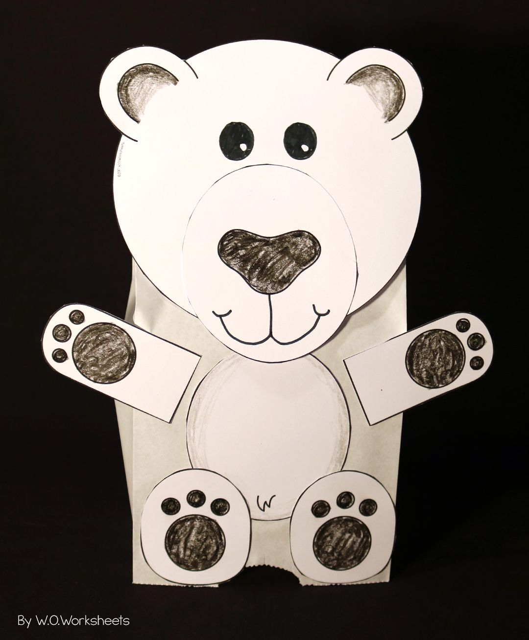 Polar Bear Craft And Arctic Animal Crafts
