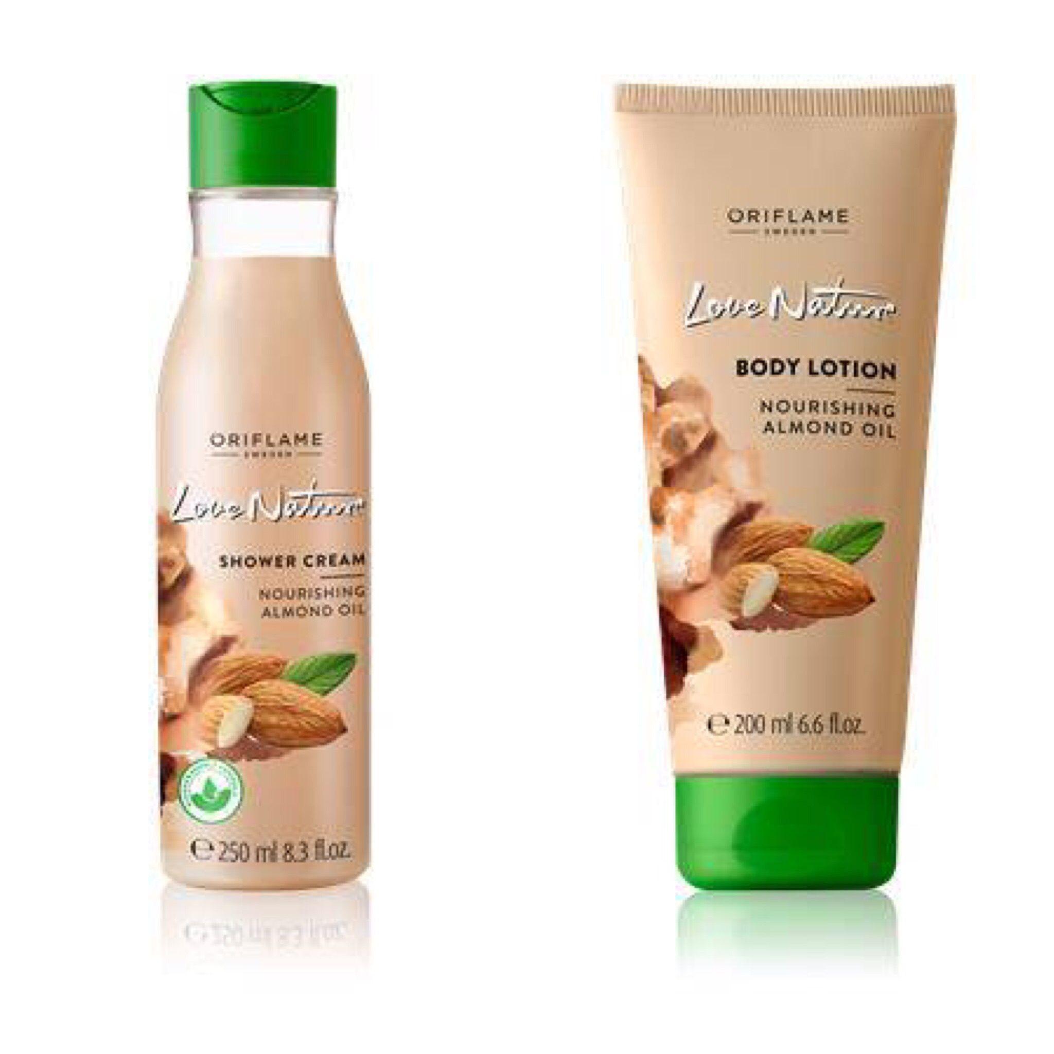 Tvålfri, pH-balanserad duschcreme som löddrar till ett lätt, krämigt skum som hjälper till att mjuka upp huden. Mandelolja innehåller naturlig vitamin A, B1 och E för att hjälpa till att lugna och vårda huden. Med en helt biologiskt nedbrytbar formula.