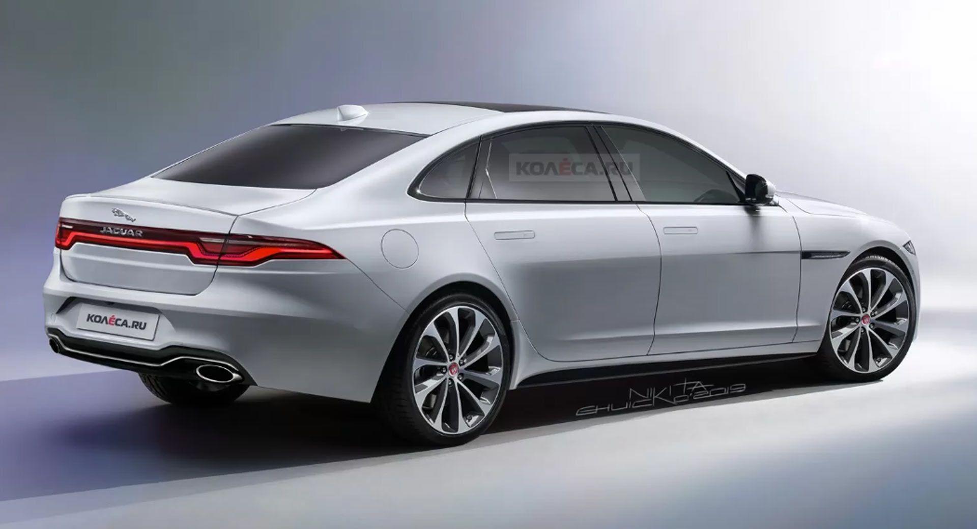 Konnte Der Brandneue Vollelektrische Jaguar Xj So Aussehen Aussehen Autodasalleinefahrt Autodasfliegenkann Autodasmitwasserf Jaguar Xj Jaguar Xe Jaguar