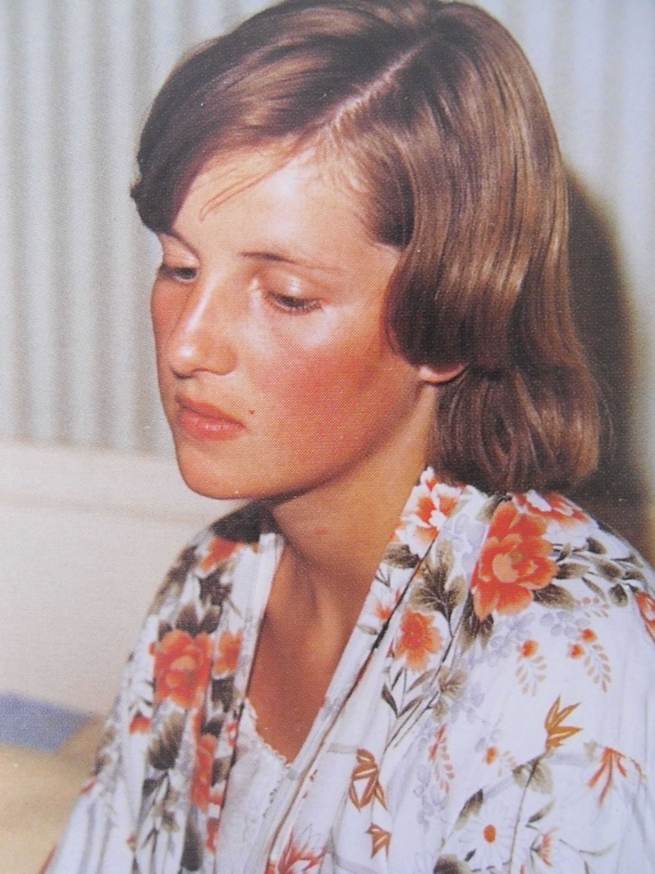 Lady Diana Spencer she always looked so sad as a child