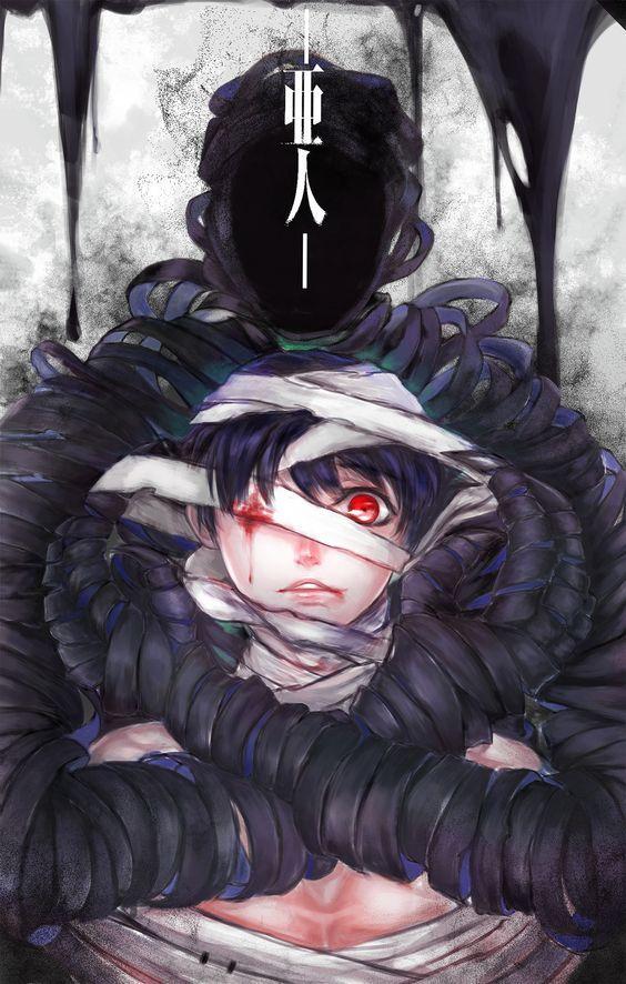 demi humans anime - 564×886