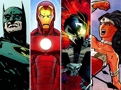 Greatest Superhero Ever Bracket Showdown Superhero Greatful Fan Art