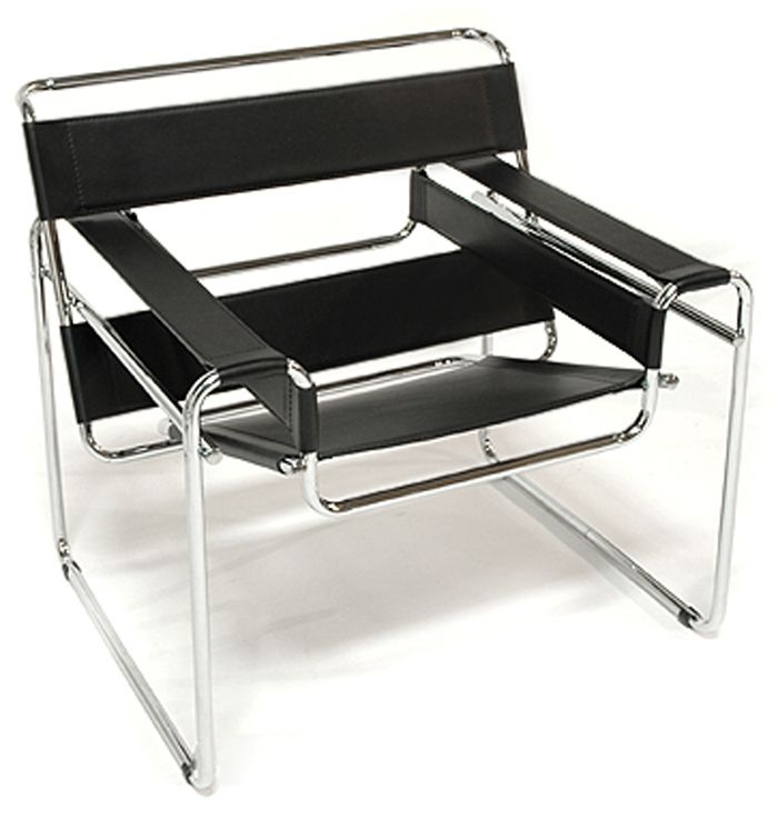 Wassily chair. Inspired by the design of a bicycle