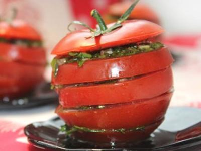 Закуска на скорую руку, маринованные помидоры, два лучших рецепта