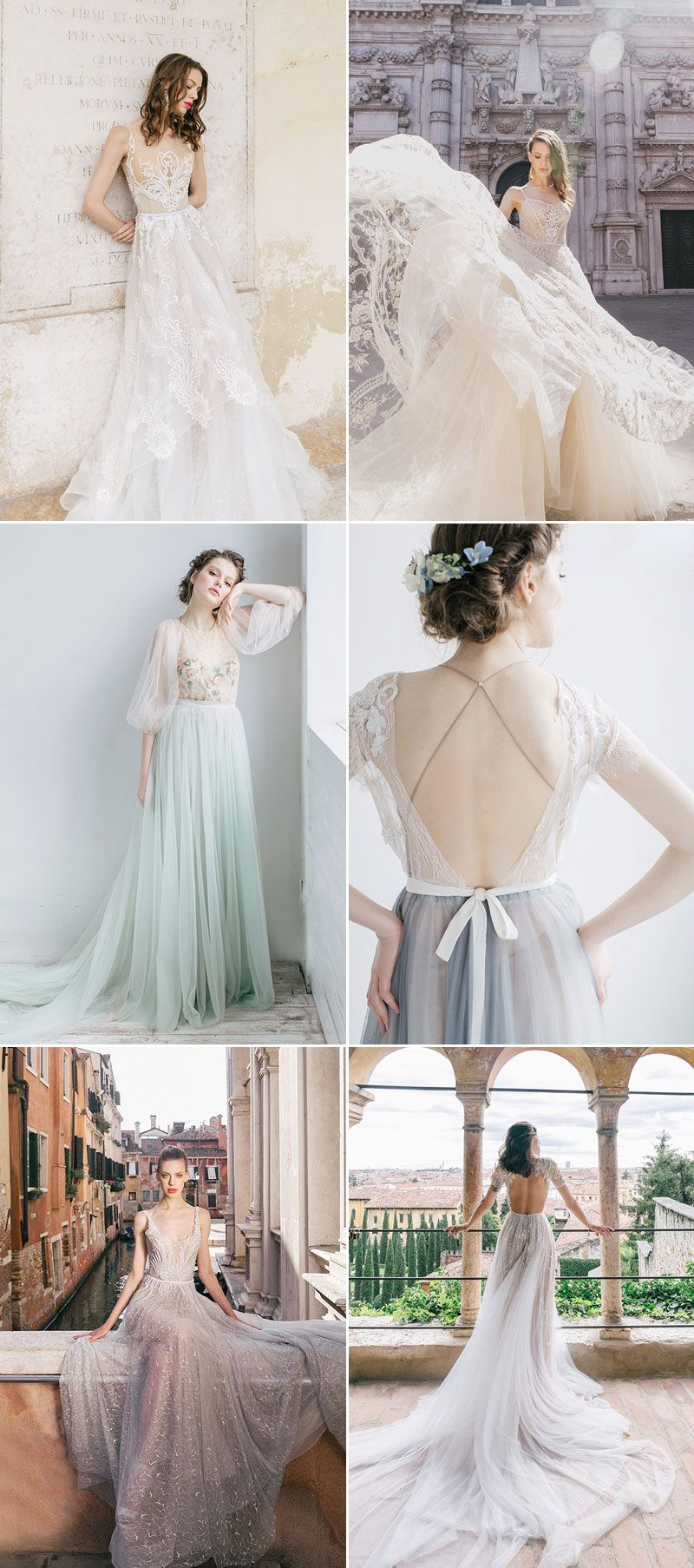 New  Ethereal Wedding Dresses That Look Like They Belong in Fairy Tales