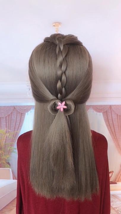 # Trenzas videos paso a paso Peinado de niña muy hermosa