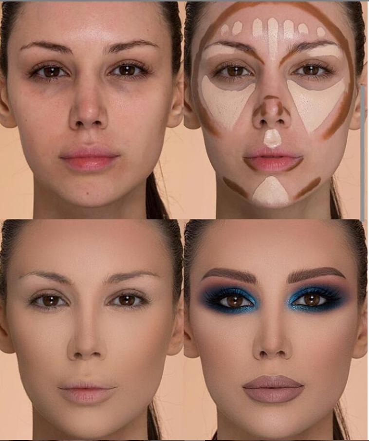 24 Perfect And Best Contour Highlight Makeup Tutorial For Beginners Eyemakeupforbeginners In 2020 Highlighter Makeup Contour Makeup Makeup Tips For Beginners