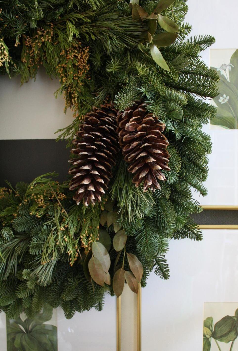 """Soft Elegance"" — seasonsofwinterberry Winter wreath"
