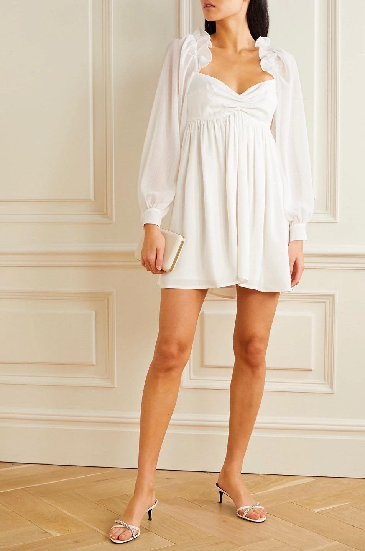 24 White Summer Dresses To Celebrate The Season In Style White Dress Summer Mini Dress Versatile Dresses [ 1440 x 952 Pixel ]
