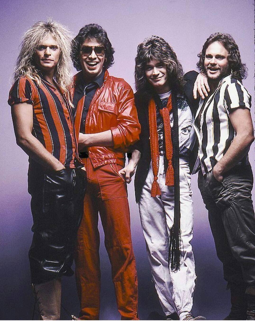 Van Halen Eddie Van Halen Van Halen Michael Anthony Van Halen