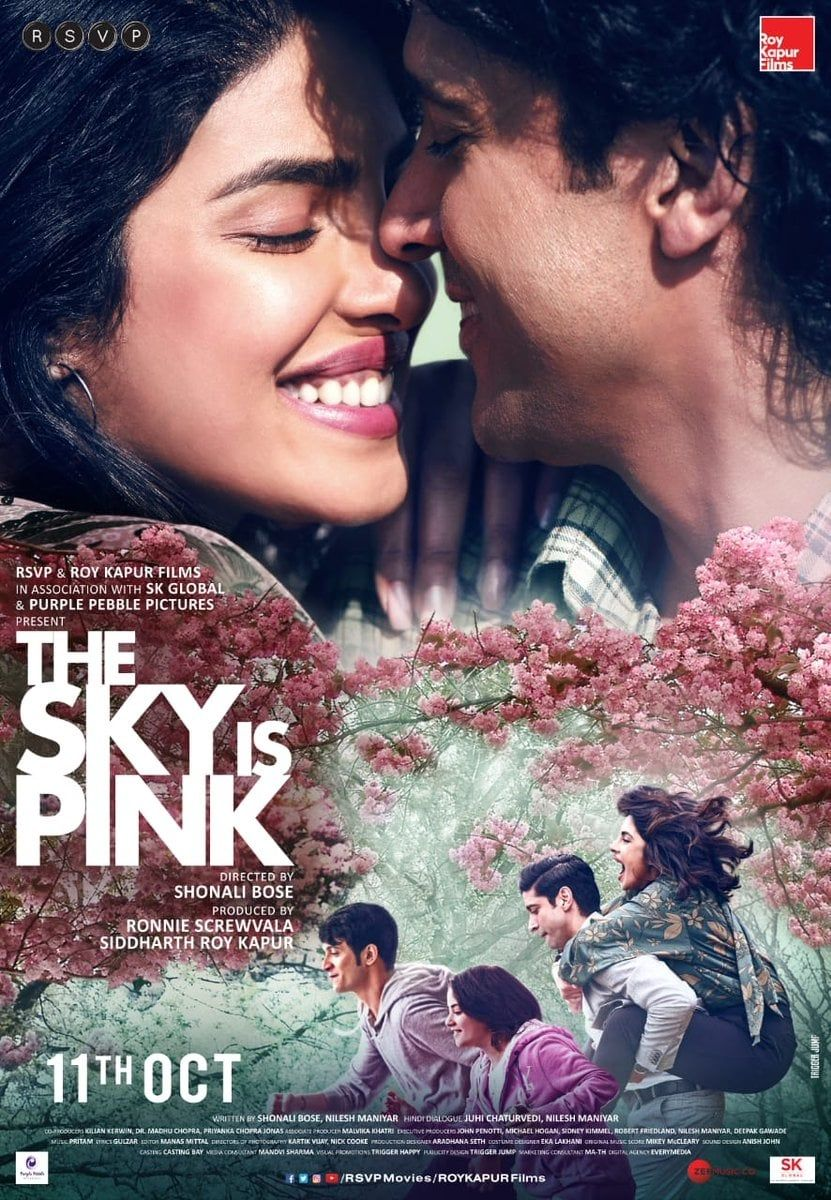 Pin On The Sky Is Pink 2019 Movie 4k Hd Online