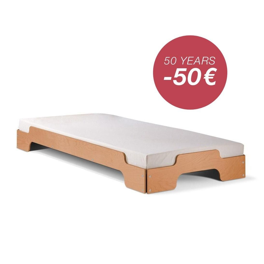 The Stapelliege Stackable Divan Bed Was Designed As Early As 1966 By Rolf  Heide For The German Manufacturer Müller Möbelwerkstätten And Has Since  Been The ...