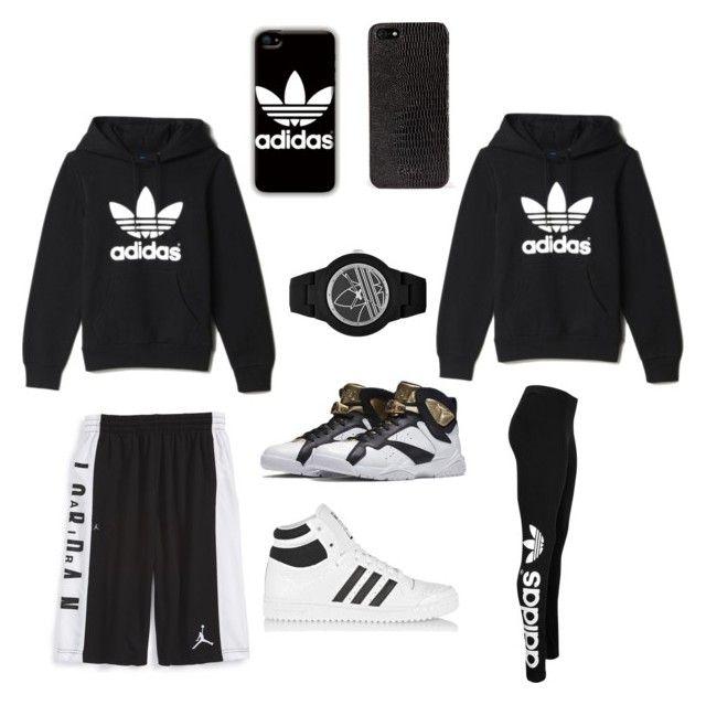 adidas fleece outfit