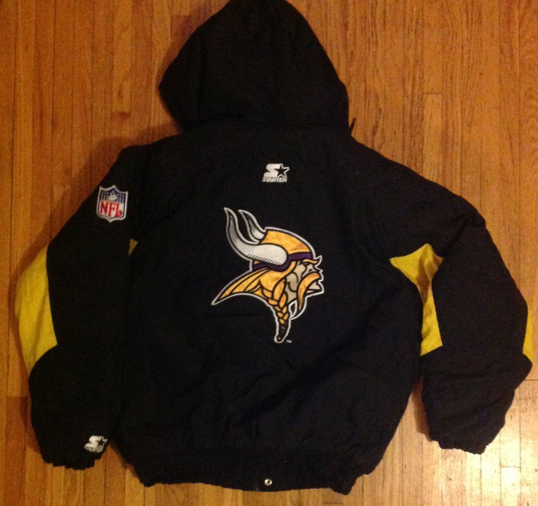 official photos 53e7a 52b34 Vintage Starter Minnesota Vikings NFL Football Pullover ...
