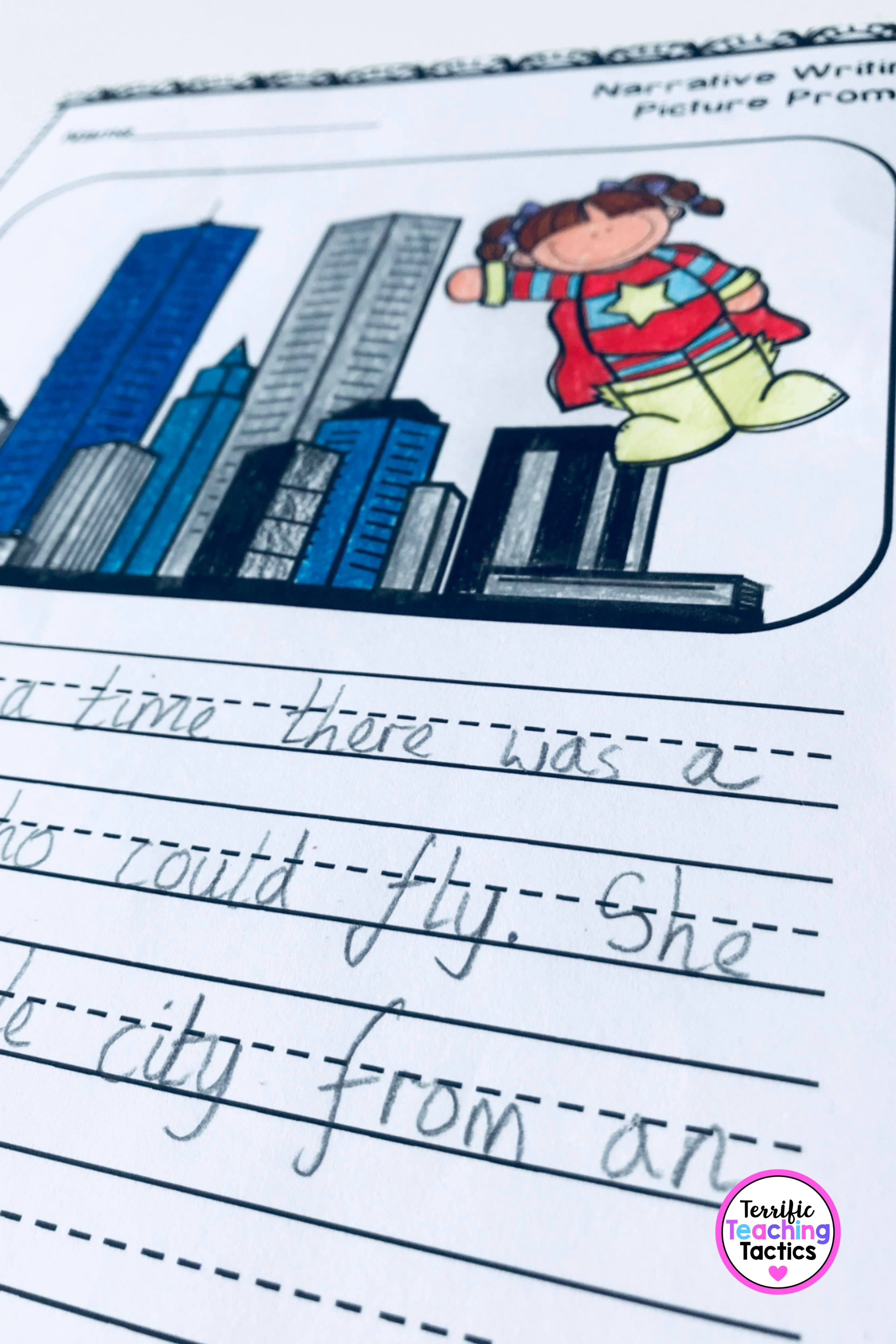 Narrative Writing Picture Prompt Worksheets In