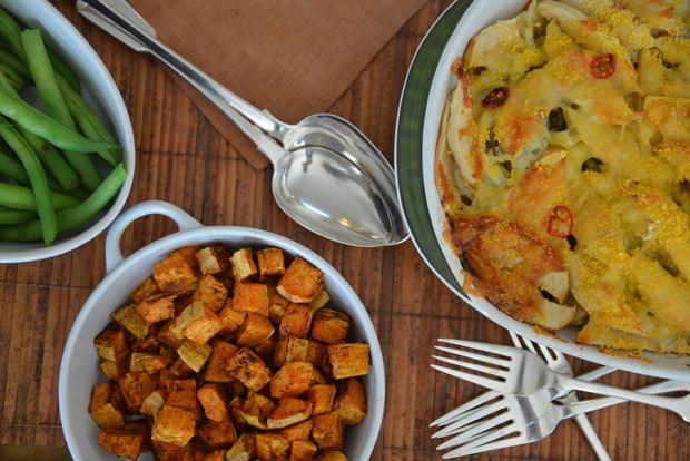 Thanksgiving Table @Athlete Food #athletefood