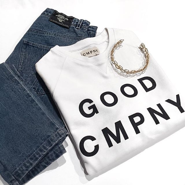 Good Cmpny 〰 the perfect jumper for lounging. #goodcmpny