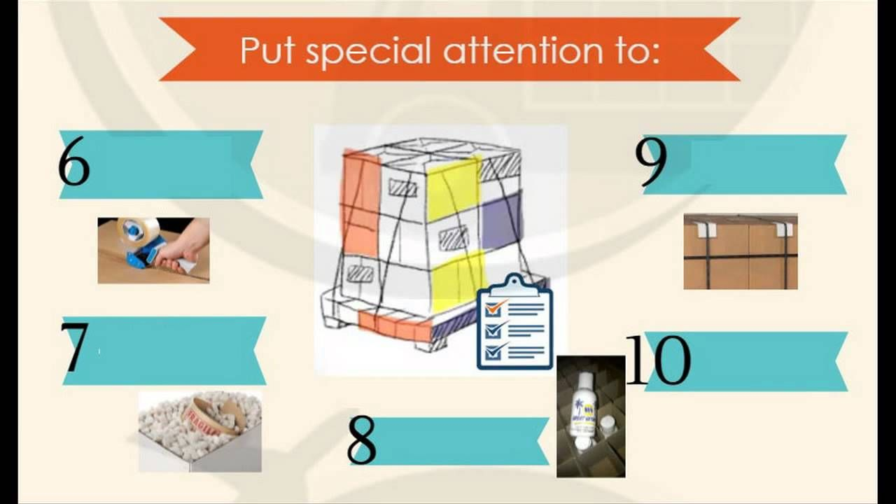Long Hung Phat - 16 Packing Tips for Shipping Internationally
