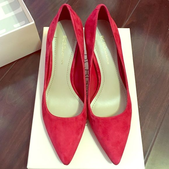 9193f2b1787 BCBG red shoes Red pumps. Sorry no trade ☹ BCBGeneration Shoes Heels