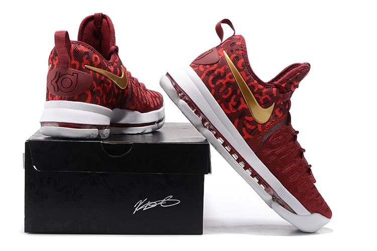 Nike Zoom KD 9 Lmtd EP Mens Basketball Shoes Red gold, cheap KD If you want  to look Nike Zoom KD 9 Lmtd EP Mens Basketball Shoes Red gold, ...