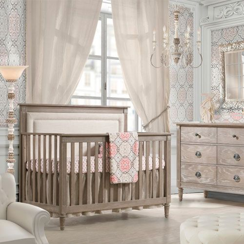 Provence Upholstered Convertible Crib in Choice of Finish   kids2 ...
