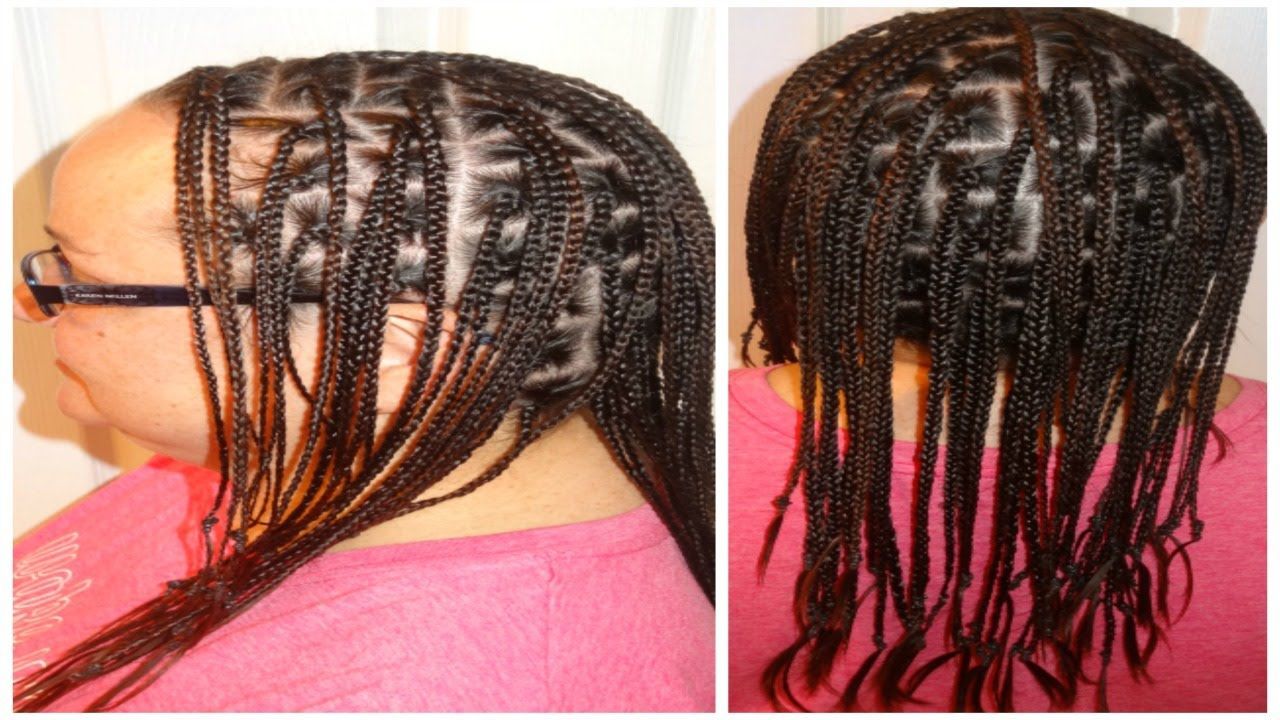 Caucasian Box Braids With No Extensions With Images Box Braids
