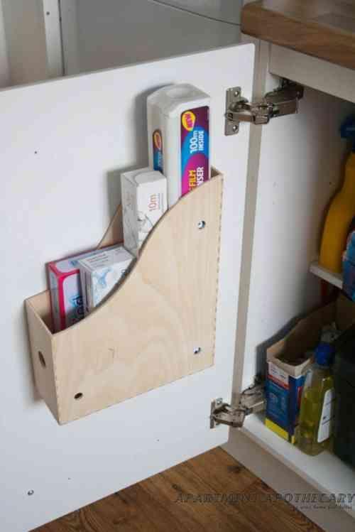La cuisine IKEA  quelqes astuces bricolage originales Le placard - amenagement placard d angle cuisine