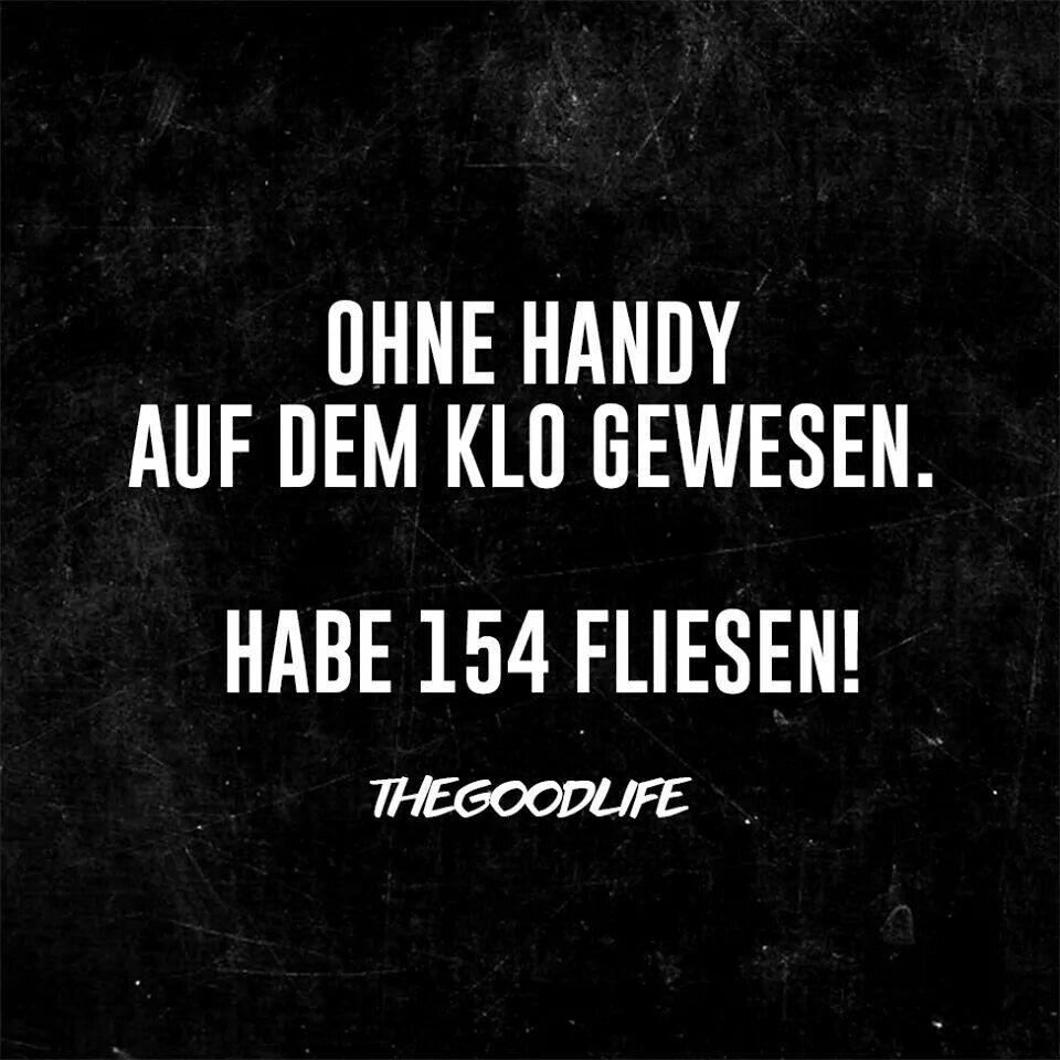 Ohne Handy...
