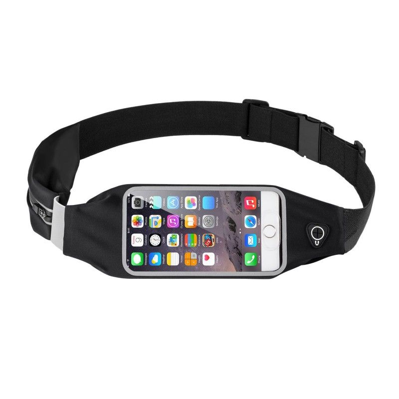 Outdoor Running Sports Waist Belt Phone Bags Case For Iphone Sony Huawei  Waterproof Hip Pouch Wallet For Samsung LG Pocket Purse d994ec63c0c